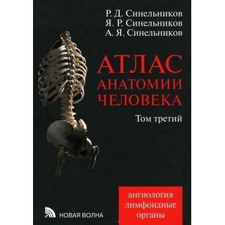 Атлас анатомии человека в 3-х т. Том 3 Синельников 2021 г. (Новая волна)